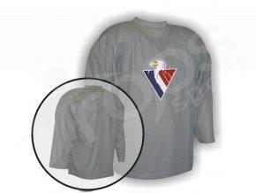 Hokejový dres tréninkový Slovan Bratislava - vlastní potisk - brankářský
