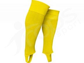 Fotbalové štulpny TROPS s podpínkou, žluté