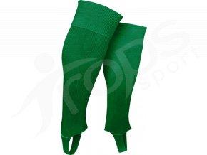 Fotbalové štulpny TROPS s podpínkou, zelené