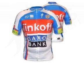 Cyklo dres Tinkoff Saxo TOP, Sagan - replika
