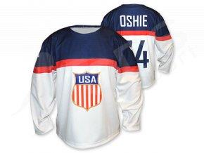 Hokejový dres USA 2014/2015 TOP - bílý
