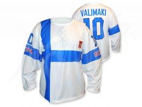 Hokejový dres Finsko 2014/2015 TOP - bílý