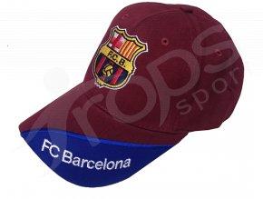 Kšiltovka FC Barcelona červená