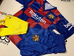 fotbalovy dres barcelona trenky stulpny