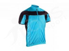Cyklistický dres Spiro Bike FULL modrý