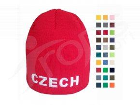 Čepice zimní CZECH