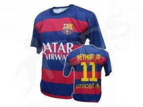 Fotbalový dres FC Barcelona Neymar 2015/2016