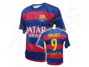 Fotbalový dres FC Barcelona Luis Suárez 2015/2016