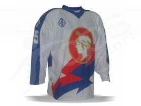 Hokejový dres RETRO POLDI Kladno 1994/95, vlastní potisk