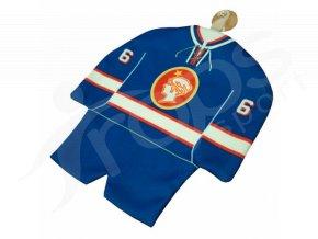 Hokejový mini dres Poldi Kladno modrý