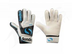 Brankářské rukavice Sondico dětské, modré