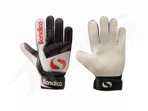 Brankářské rukavice Sondico, červené