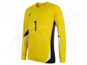 Fotbalový dětský brankářský dres Sondico žlutý