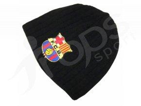 Zimní čepice Barcelona, černá