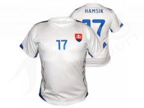 Fotbalový dres Slovensko bílý