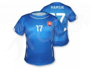 Fotbalový dres Slovensko 2015, modrý