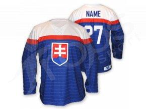 Hokejový dres Slovensko EXCLUSIVE, modrý