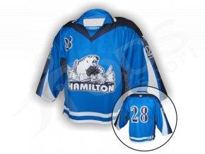 Hokejový dres HAMILTON - VLASTNÍ JMÉNO a ČÍSLO