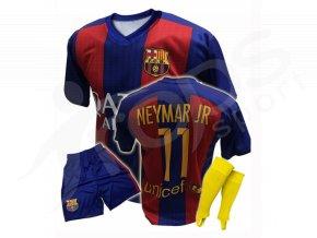 Fotbalový komplet FC Barcelona Neymar 16/17 + stulpny