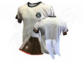 Fotbalový komplet Německo 16/17, bílý + stulpny
