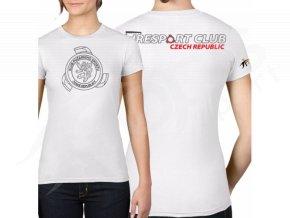 Dámské tričko KPS, bílé