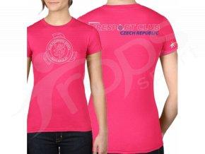 Dámské tričko KPS, růžové