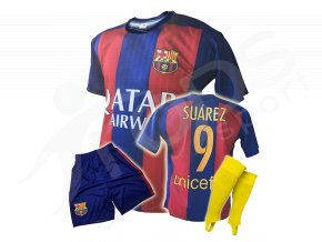 Fotbalový komplet FC Barcelona Luis Suárez 16/17 + stulpny