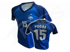 Fotbalový dres Francie Paul Pogba