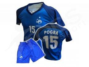 Fotbalový komplet Francie Paul Pogba