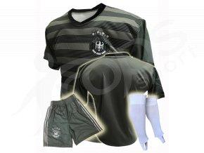 fotbalovy dres nemecko trenky nove stulpny