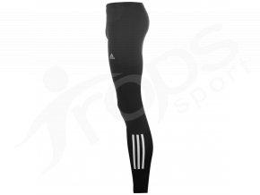 Běžecké elasťáky Adidas Questar dlouhé bílé