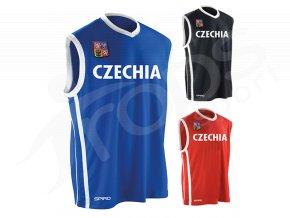 basketbalovy dres czechia a
