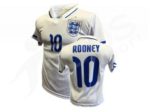 Fotbalový dres Anglie Wayne Rooney