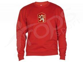 Mikina ČSSR retro klasic červená