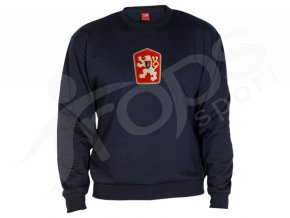 Mikina ČSSR RETRO KLASIC - modrá