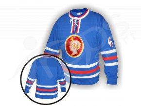 Hokejový dres RETRO POLDI KLADNO - modrý
