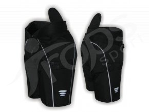 Hokejbalové kalhoty VEHEMENT - černé