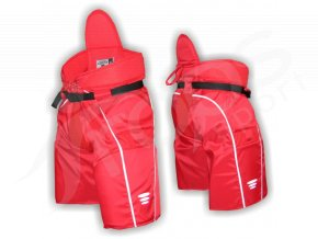 Hokejbalové kalhoty VEHEMENT - červené