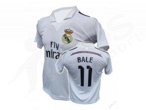Fotbalový dres Real Madrid Bale