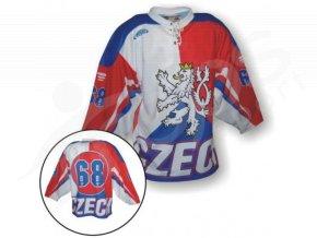 Hokejový dres CZECH / LEV