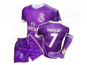 real ronaldo komplet fialovy trenky stulpny