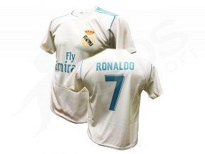 fotbalovy dres real madrid cristiano ronaldo 17 18