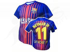 fotbalovy dres fc barcelona neymar 17 18