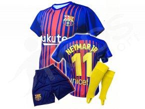 fotbalovy komplet fc barcelona neymar 17 18 stulpny