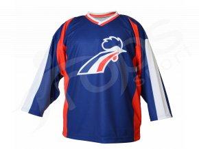Hokejový dres Francie TOP modrý