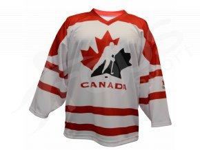 Hokejový dres Kanada TOP - bílý