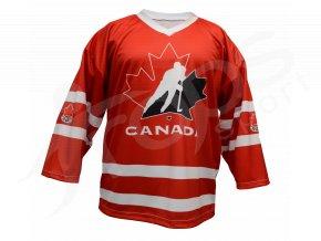 Hokejový dres Kanada TOP - červený