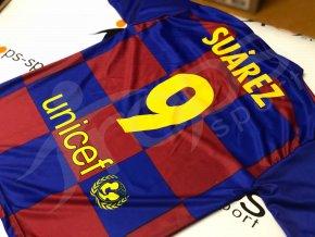 fotbalovy dres fc barcelona luis suarez 2