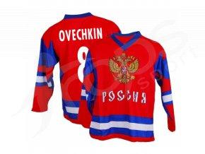 hokejovy dres rusko alexandr oveckin