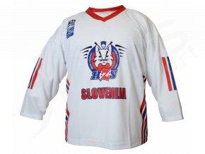 Hokejový dres Slovinsko TOP - bílý